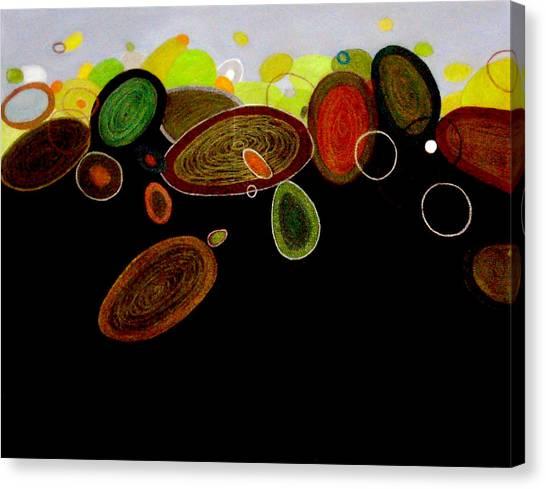 Rolling Stones Canvas Print by Farah Faizal