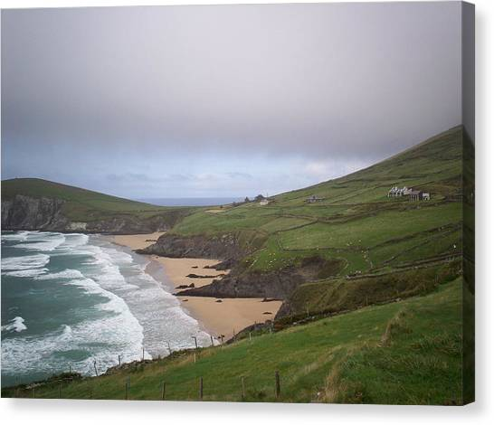 Rolling Waves - Rolling Hills Canvas Print
