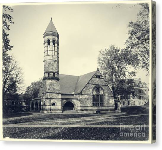 Dartmouth College Canvas Print - Rollins Chapel Dartmouth College Hanover New Hampshire by Edward Fielding