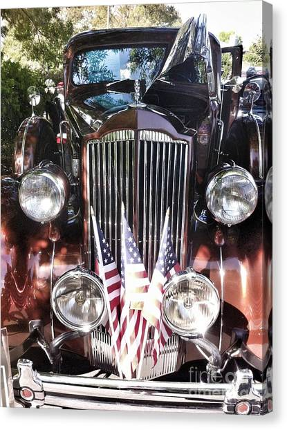 Rolls Royce Car  Canvas Print