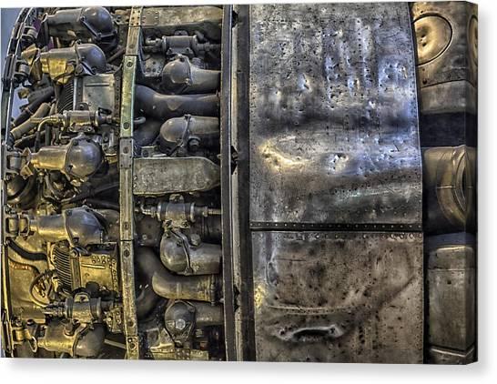 Rolls-royce Dart Turboprop Detail Canvas Print