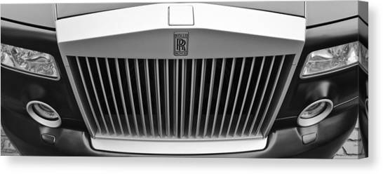 Rolls Royce Canvas Print