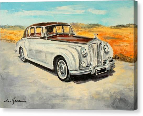 Rolls Royce Silver Cloud Canvas Print