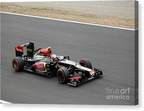 Romain Grosjean Canvas Print