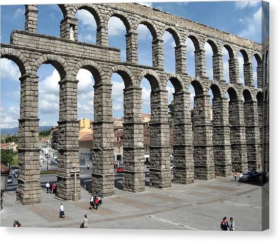 Roman Aqueduct IIi Canvas Print