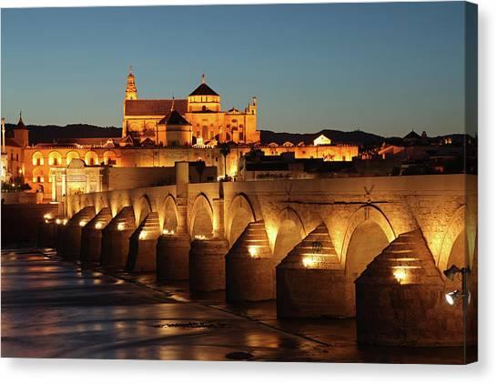 Roman Bridge Córdoba Canvas Print by David Bank
