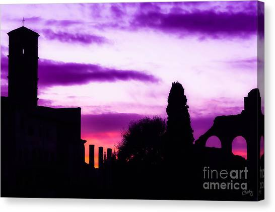 Roman Sunrise Canvas Print