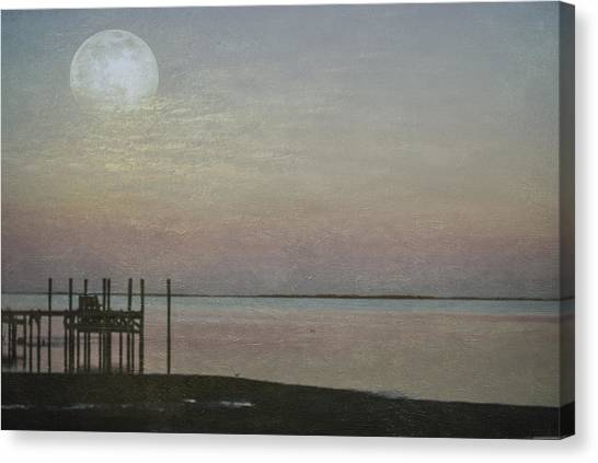 Romancing The Moon Canvas Print