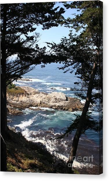 Canvas Print - Romantic California Coast by Christiane Schulze Art And Photography