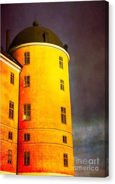 Romantic Fairytale Castle Canvas Print