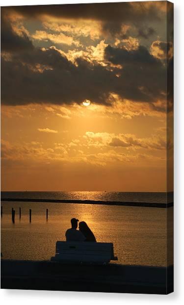 Romantic Sunrise Canvas Print