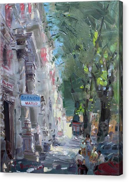 Rome Canvas Print - Rome Dal Barbiere Mario by Ylli Haruni