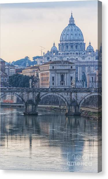 Rome Saint Peters Basilica 02 Canvas Print