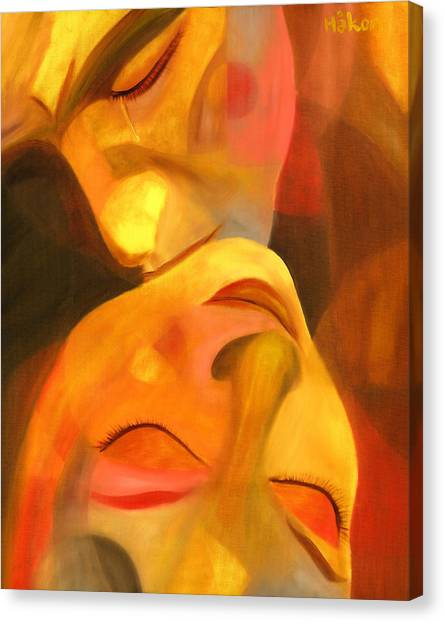 Anniversary Canvas Print - Romeo And Juliet by Hakon Soreide