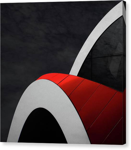 Ron Arads' Bows Canvas Print by Gilbert Claes