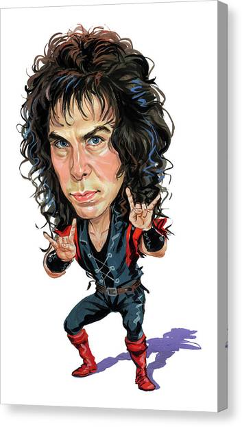 Elves Canvas Print - Ronnie James Dio by Art