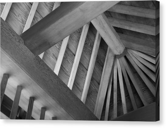Roof Structure Canvas Print