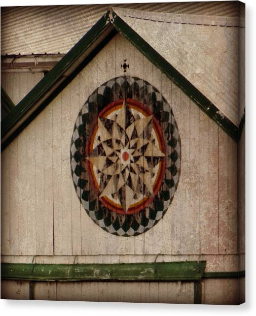 Roofline Hex Canvas Print