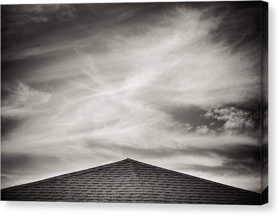 Rooftop Sky Canvas Print