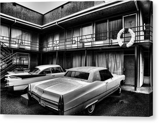 Tn Canvas Print - Room 306 At The Lorraine Hotel by Stephen Stookey