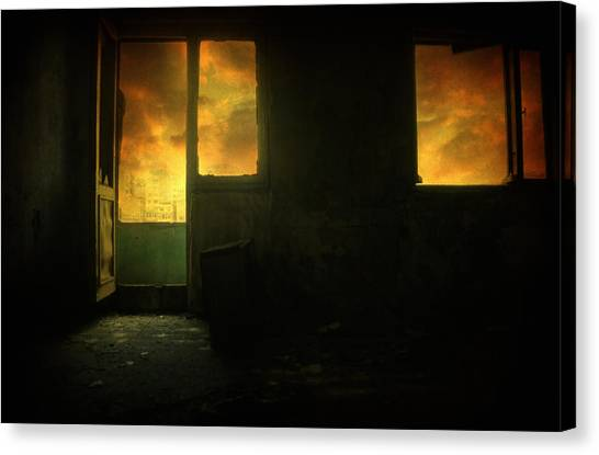 Analog Canvas Print - Room 9  by Taylan Apukovska