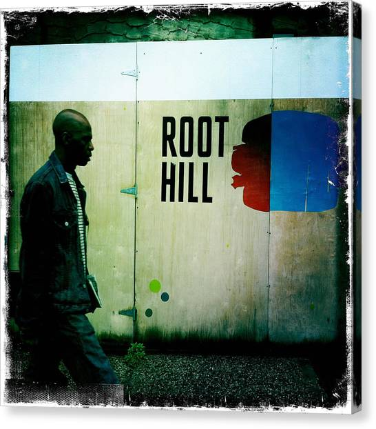Root Hill Canvas Print