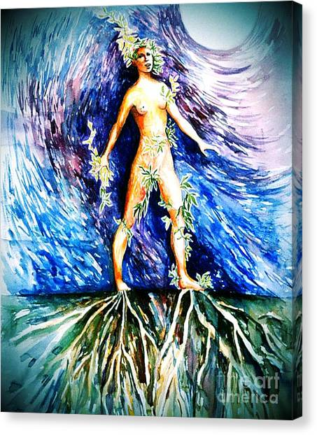 Rooted #2 Canvas Print