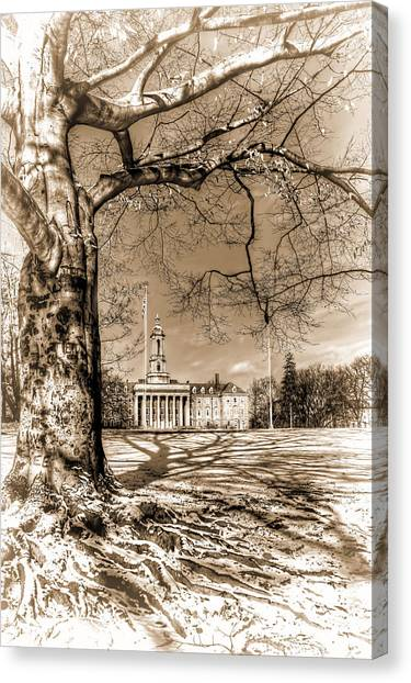 Pennsylvania State University Canvas Print - Roots by Rusty Glessner