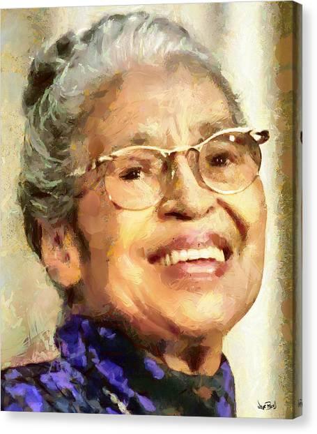 Rosa Parks Canvas Print