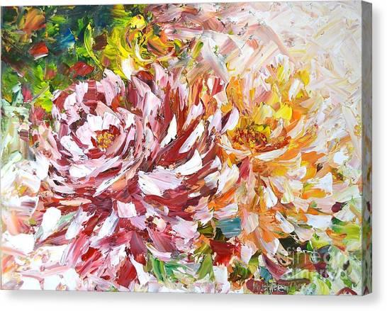 Rose Delight Canvas Print