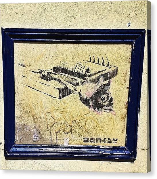 Banksy Canvas Prints | Mobile Prints