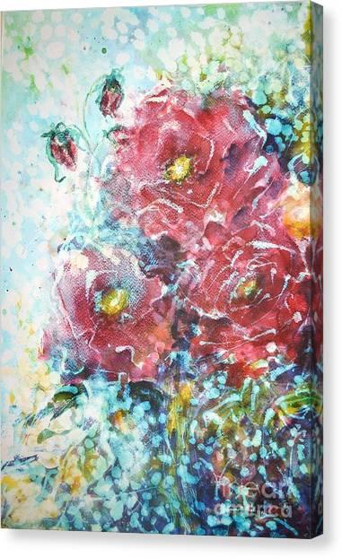 Rose Summer Delight Canvas Print