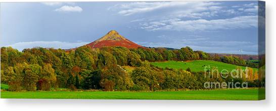 Roseberry Topping Yorkshire Moors Canvas Print