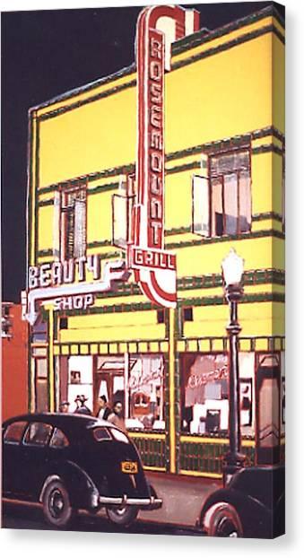 Rosemount Grill Canvas Print by Paul Guyer