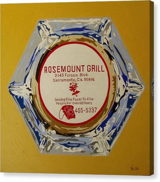 Rosemount Grille Canvas Print by Paul Guyer