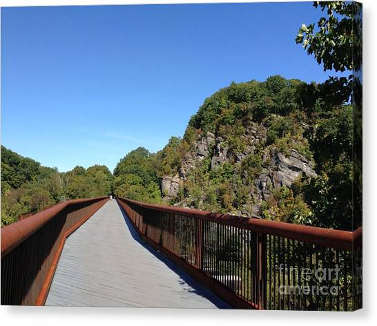 Rosendale Trestle Canvas Print
