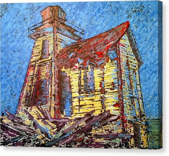 Ross Island Lighthouse Canvas Print