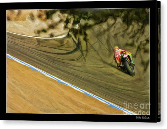 Rossi Though The Trees  Canvas Print