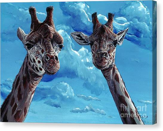 Rothschild Giraffe Canvas Print