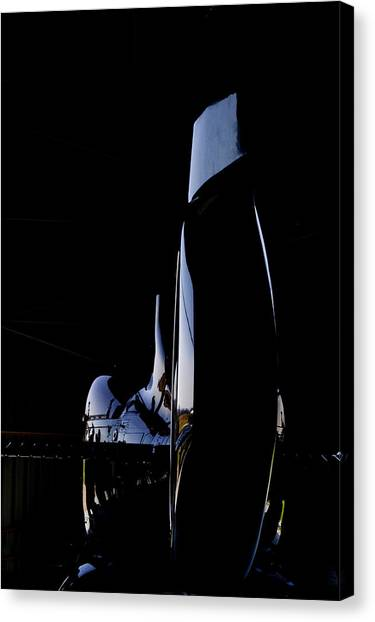 Rotor Tail  Canvas Print