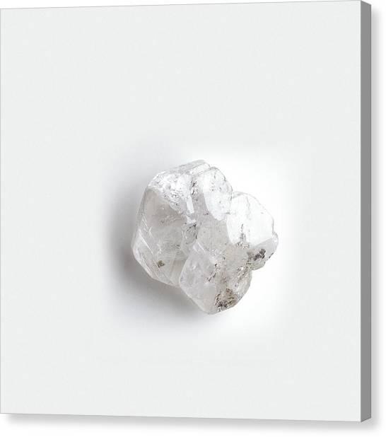 Gemstones Canvas Print - Rough Phenakite Crystal by Dorling Kindersley/uig