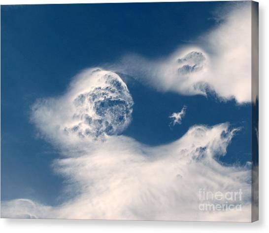 Round Clouds Canvas Print