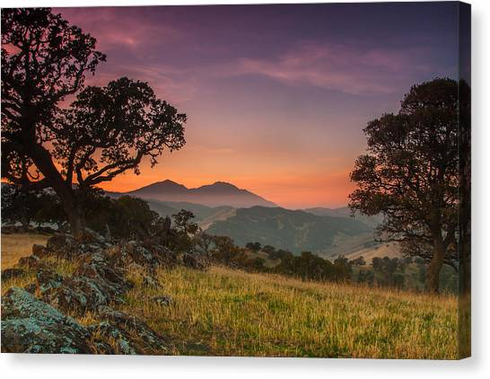 Contra Canvas Print - Round Valley After Sunset by Marc Crumpler