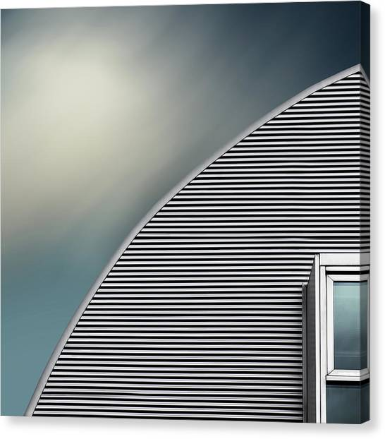 Abstraction Canvas Print - Rounded Roof by Gilbert Claes
