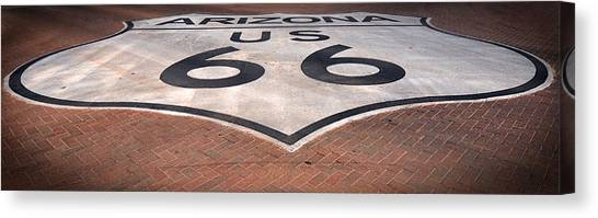 Route 66 Arizona Canvas Print