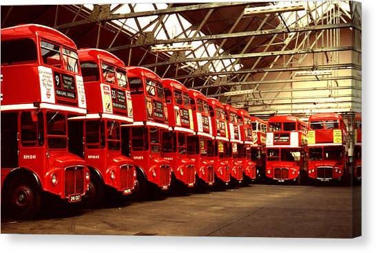 Routemasters Canvas Print