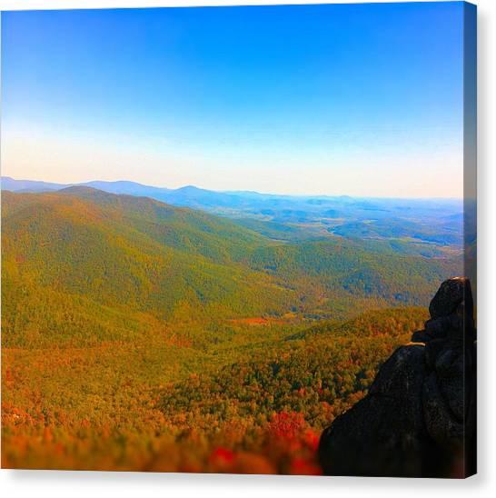 Old Rag Mountain Canvas Prints