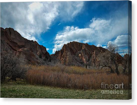 Roxborough Cragginess Canvas Print