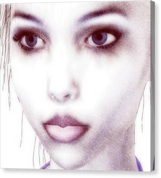 Roxie Close Canvas Print