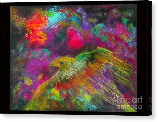 Royal Bird Canvas Print